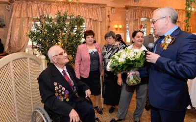 100 лет Кузнецову Я.Д.