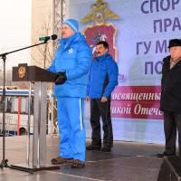 Спортивный праздник московской полиции