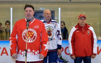 Хоккей в московской полиции