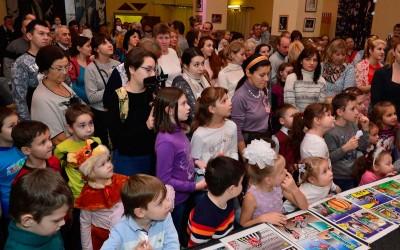 Новогодняя ёлка в Московском молодежном театре им. В. Спесивцева