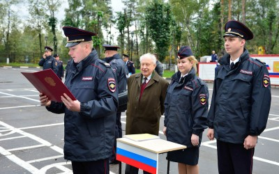 Присяга ЦПП ГИБДД в Ивантеевке